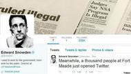 Edward Snowden Twitter hesabı açtı