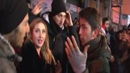 Tacizciler Taksim'de iş başındaydı!