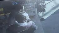 Patlama sırasında yaşanan panik kamerada