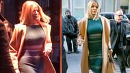 Khloe Kardashian sokağa sütyensiz çıktı
