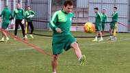 Batalla, Bursaspor'da ilk antrenmanına çıktı