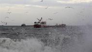 İstanbul'da hava ve deniz ulaşımına lodos darbesi
