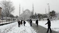 İstanbul'a kar daha erken geliyor!