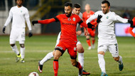 Galatasaray kupada ilk kez puan kaybetti