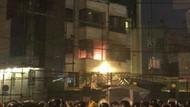 İran'da Arabistan Konsolosluğu ateşe verildi!