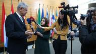 Başörtülü AA muhabiri Avrupa Parlamentosuna alınmadı