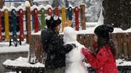 Ankara'da okullara bir gün daha kar tatili