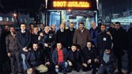 Tuzlaspor, Kadıköy'e 500 T hatlı otobüs ile geldi