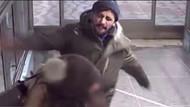 Metroda hırsız dehşeti: Genç kadına tekme tokat saldırdı
