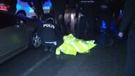 Erdoğan'ın konvoy güzergahında kaza: 1 polis yaralı