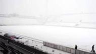 Trabzonspor Beşiktaş maçı kar yağışı nedeniyle ertelendi