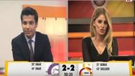 Osmanlıspor'un galibiyet golü GS TV spikerlerini yıktı