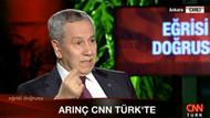 Arınç'tan olay yaratacak Erdoğan açıklaması
