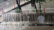 Yağmurla gelen Ankara Şelalesi!