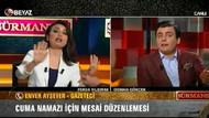 Osman Gökçek ve Enver Aysever birbirine girdi!