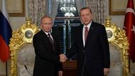 Erdoğan ve Putin'den Mabeyn köşkünde ortak açıklama