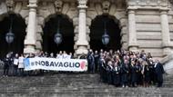 İtalyan yargı ve basın mensupları, Türkiye'deki tutuklamaları protesto etti
