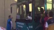 Halk otobüsünde linç