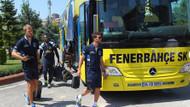 Yoğun güvenlik önlemi altında Fenerbahçe İstanbul'a geldi
