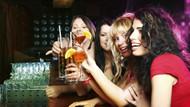 Araştırmaya göre kadınlar ve erkekler eşit miktarda alkol alıyor