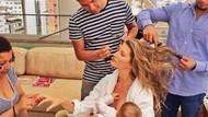 Ünlü annelerin Emzirmeyi Normalleştirin kampanyası