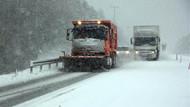 Bolu Dağı'nda kar ulaşımı olumsuz etkiliyor