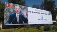 Erdoğan için pankart yaptıran iş adamı FETÖ'den tutuklandı