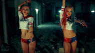 Harley Quinn kostümlü Rus kızlardan müthiş klip