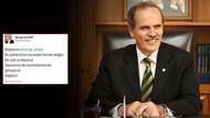 AK Partili Başkan'dan skandal tweet açıklaması