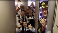 THY uçuş ekibi Mannequin Challenge modasına uydu