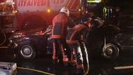 Erdal Tosun'un can verdiği kazadan ilk görüntüler