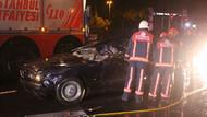 Erdal Tosun'un öldüğü kaza anı kamerada