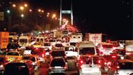 15 Temmuz Şehitler Köprüsü ve Fatih Sultan Mehmet Köprüsü kilitlendi