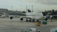 THY uçağı Katar Emiri'nin uçağına sürttü!
