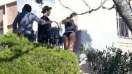 Gwyneth Paltrow reklam çekiminde fena yakalandı
