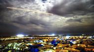 Azez'deki PYD mevzileri Fırtına obüsleriyle vuruluyor
