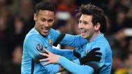 Cüneyt Çakır'ın yönettiği maçta Barcelona, Arsenal'ı 2-0 yendi