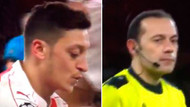 Mesut Özil küfür ederken kameraya yakalandı