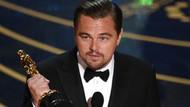 Leonardo Dicaprio'nun Oscar konuşması olay oldu