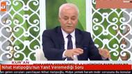 Nihat Hatipoğlu'nda midye sorusu
