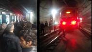Son dakika haberi: Marmaray raydan çıktı