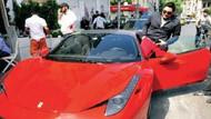 Hacı Sabancı, Ferrari ile motosikletli bir baba-kıza çarptı.