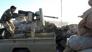 IŞİD teröristinin kask kamerasından çatışma anı