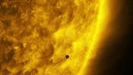 NASA, Merkür'ün Güneş'in önünden geçişini böyle görüntüledi