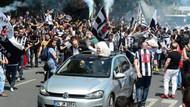 Beşiktaş Çarşı'da kutlama yapıyor!