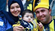 Türkiye kupası maçında Fenerbahçe tribünleri
