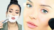 Tıraş olarak güzelleş: Önce tıraş sonra makyaj!