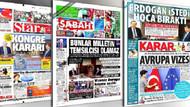 İktidara yakın gazeteler Davutoğlu'na Saray azlini nasıl gördü?