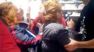 Adana'da kadınlar kasada birbirine girdi
