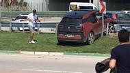 Bursasporlu Sercan Yıldırım, kaza yaptı